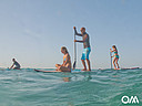 SUP in de baai van Morro Jable